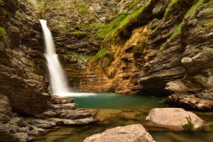 La Cascade de la Lance<br> Parc Naturel National du Mercantour