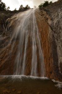 La Cascade de Chaumie<br> Haute Vallée du Verdon<br> Parc Naturel National du Mercantour