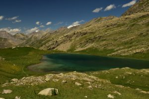 Lac du Lauzanier<br> Vallon du Lauzanier<br> Parc Naturel National du Mercantour