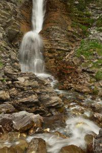 Cascade du pont du Bachelard<br> Col de la Cayolle<br><br> Parc Naturel National du Mercantour