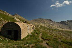 Casemates militaires de l'Estrop<br> Vallon de l'Estrop<br> Parc Naturel National du Mercantour