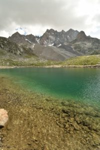Le grand Lac du Marinet<br> Vallon de Mary<br> Haute Vallée de l'Ubaye