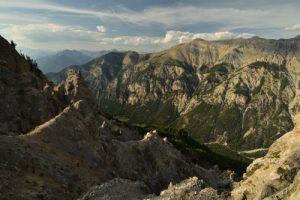 Réserve naturelle du val d'Escreins<br> La Crête de Vars<br> Parc Naturel Régional du Queyras