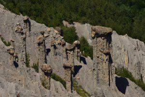 Demoiselles coiffés de Théus<br> Lac de Serre-Ponçon