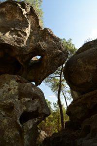 Chaos de Grès du Mont Simonet<br> Forêt Domaniale de La Commanderie<br> Parc Naturel Régional du Gâtinais Français