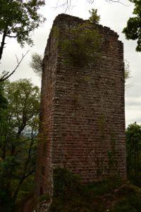 Château du Nideck<br> Massif des Vosges centrales