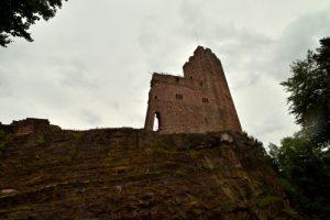 Château de Wangenbourg<br> Massif des Vosges centrales