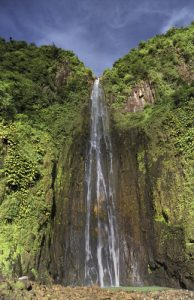 La seconde Chute du Carbet<br> Parc Naturel National de la Guadeloupe (Basse-Terre)