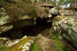 Sentier Denecourt n°8<br> Rochers &amp; Platières des Gorges du Houx<br> Forêt domaniale de Fontainebleau