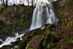 La Cascade de Vaucoux<br> Parc Naturel Régional des Volcans d'Auvergne