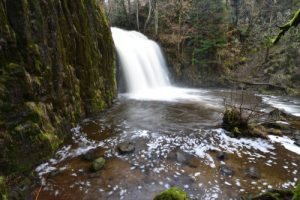 La Cascade de Bois de Chaux<br> Parc Naturel Régional des Volcans d'Auvergne