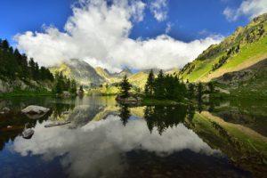 Le Lac de la Cassière<br> Parc Naturel Régional des Volcans d'Auvergne