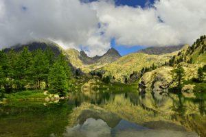 Lac de Trécolpas (2150m)<br> Haute vallée de la Vésubie<br> Parc Naturel National du Mercantour
