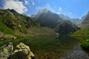 Le Lac Autier (2275m)<br> Lacs de la Gordolasque<br> Haute vallée de la Vésubie<br> Parc Naturel National du Mercantour