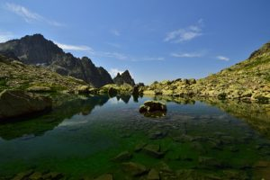 Les Lacs de Balaour<br> Haute vallée de la Vésubie<br> Parc Naturel National du Mercantour