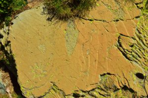 """Gravures rupestres dites les """"Merveilles""""<br> La Vallée des Merveilles<br> Haute vallée de la Vésubie et de la Roya<br> Parc Naturel National du Mercantour"""