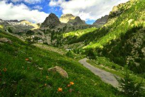 <br>Haute vallée de la Vésubie<br>Parc Naturel National du Mercantour
