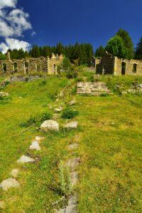 Les casemates les Cabanes Vieilles<br> Les forts du massif de l'Authion<br> Haute vallée de la Vésubie<br> Parc Naturel National du Mercantour