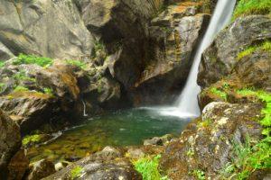 La cascade Du Ray<br> Vallon de Gordolasque<br> Haute vallée de la Vésubie<br> Parc Naturel National du Mercantour