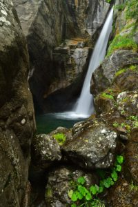 La cascade Du Ray<br> Haute vallée de la Vésubie<br> Parc Naturel National du Mercantour