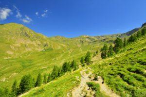 Les Lacs de Millefonts<br> Haute vallée de la Vésubie<br> Parc Naturel National du Mercantour