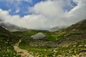 Le Lac Long des Lacs de Millefonts<br> Haute vallée de la Vésubie<br> Parc Naturel National du Mercantour