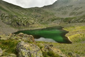 Le Lac Gros des Lacs de Millefonts<br> Haute vallée de la Vésubie<br> Parc Naturel National du Mercantour