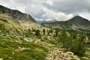 Lacs de Terre-Rouge<br> Haute vallée de la Tinée<br> Parc Naturel National du Mercantour