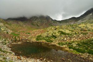 Lacs des Terres-Rouges<br> Haute vallée de la Tinée<br> Parc Naturel National du Mercantour
