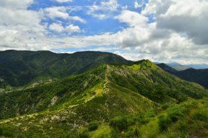 La Cîme de Roccasièra<br> Haute vallée de la Vésubie<br> Parc Naturel National du Mercantour