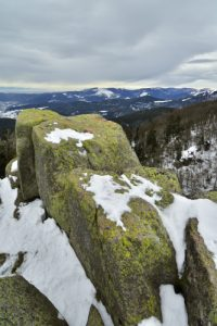 Point de vue du Petit Wurzelstein (1247m)<br> La Crête de la Réserve Frankenthal-Missheimle<br> Parc Naturel Régional des Ballons des Vosges