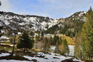 Le Lac des Truites ou du Forlet<br> Parc Naturel Régional des Ballons des Vosges