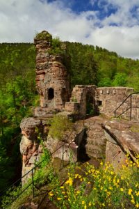 Château de Froensbourg (XIV ième)<br> Parc Naturel Régional des Vosges du Nord
