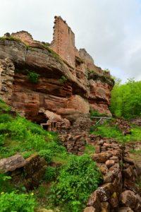 Châteaux de Schoeneck (XII ième)<br> Parc Naturel Régional des Vosges du Nord