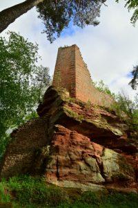 Château de Windeck (XIII ième)<br> Parc Naturel Régional des Vosges du Nord