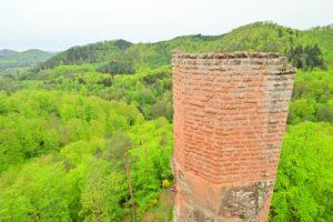 Château de Wasigenstein (XIII ième)<br> Parc Naturel Régional des Vosges du Nord